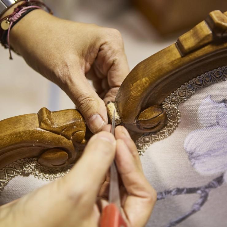 Curso de restauración y decoración de muebles