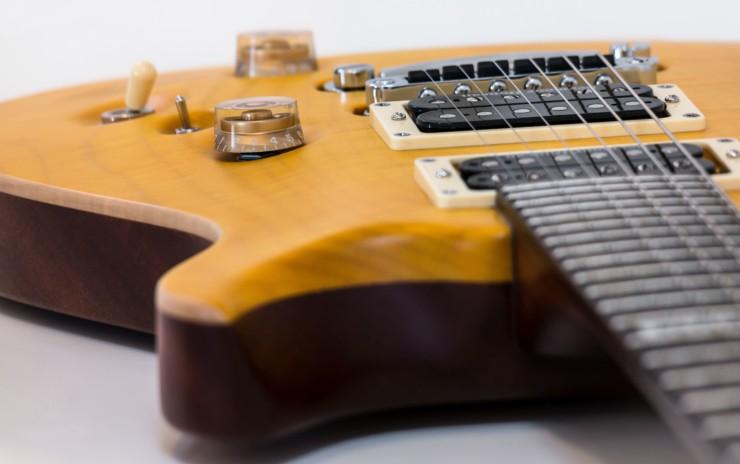 Construcción de una guitarra eléctrica